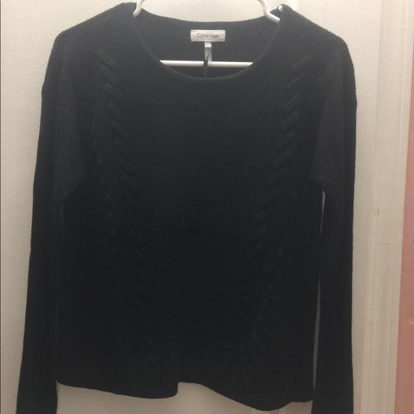 Calvin Klein 100% acrylic sweater